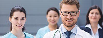 profissionais e empresas de saúde